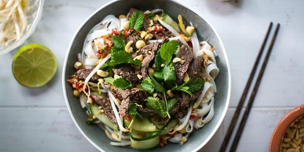 Recipe: Vietnamese Beef Noodle Salad